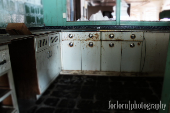 Vintage Kitchenette