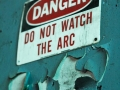 Do Not Watch the Arc