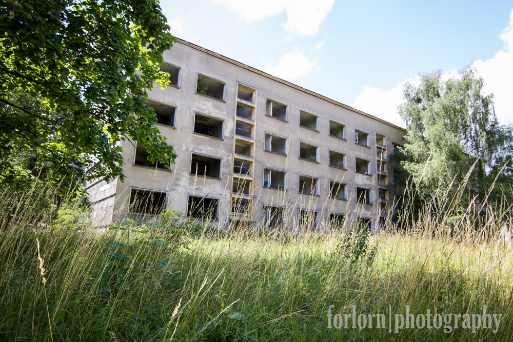 And then at the back of the village, we encountered a slew of breathtakingly ugly old Soviet buildings that were constructed as apartments when this was a Soviet military base.  Nothing like Eastern Bloc Architecture, eh?  (Camera: Canon Rebel T3i)