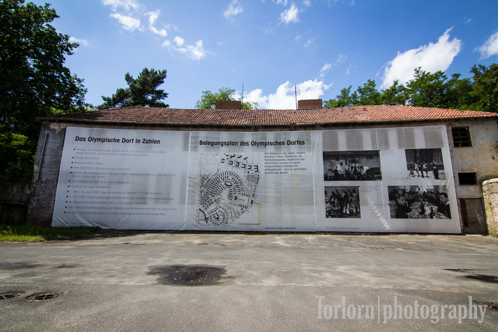 Information about the games can be found on big boards around the site.  (Camera: Canon Rebel T3i)